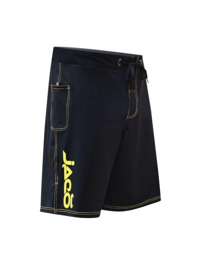 Jaco Hybrid Training Shorts Black/Sugafly Yellow