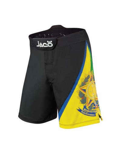 Jaco Brasil Resurgence MMA Fight Shorts Black
