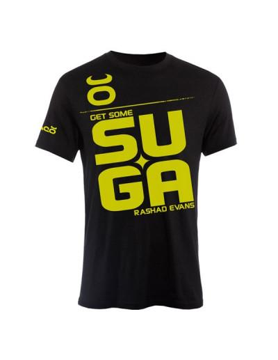 Jaco Suga Rashad Evans Crew T-shirt Black/SugaFly Yellow