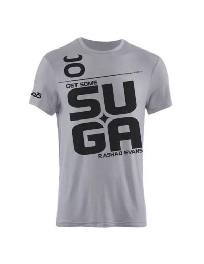 Jaco Suga Rashad Evans Crew T-shirt Silver