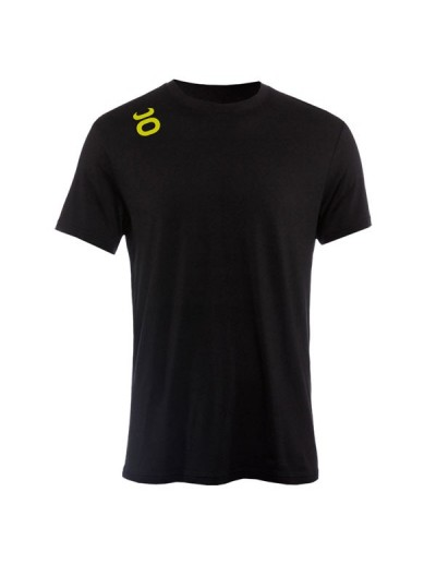 Jaco Tenacity Performance Crew t-shirt Black/SugaFly Yellow