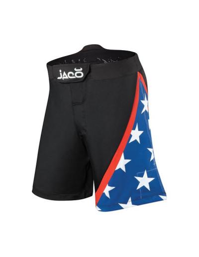 Jaco USA Resurgence MMA Fight Shorts Black