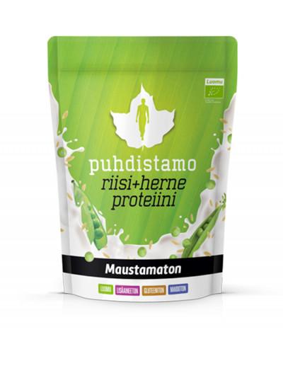 Puhdistamo riisi + herneproteiini