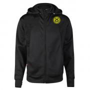Jaco Team Convertible Hoodie/Jacket Black/SugaFly Yellow