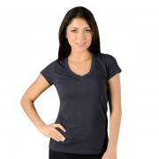 Jaco Womens Authentic Performance V Neck t-shirt Black