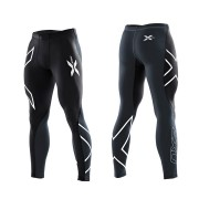 2XU Men's Elite Compression Tights Black/Steel