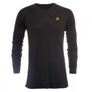 Jaco Tenacity V Neck Thermal Black/SugaFly Yellow