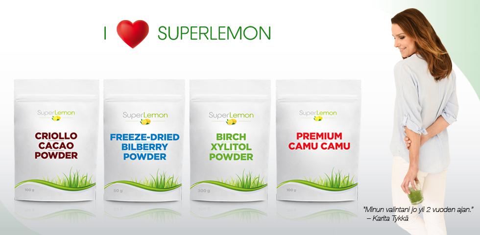 Rakastan SuperLemonia