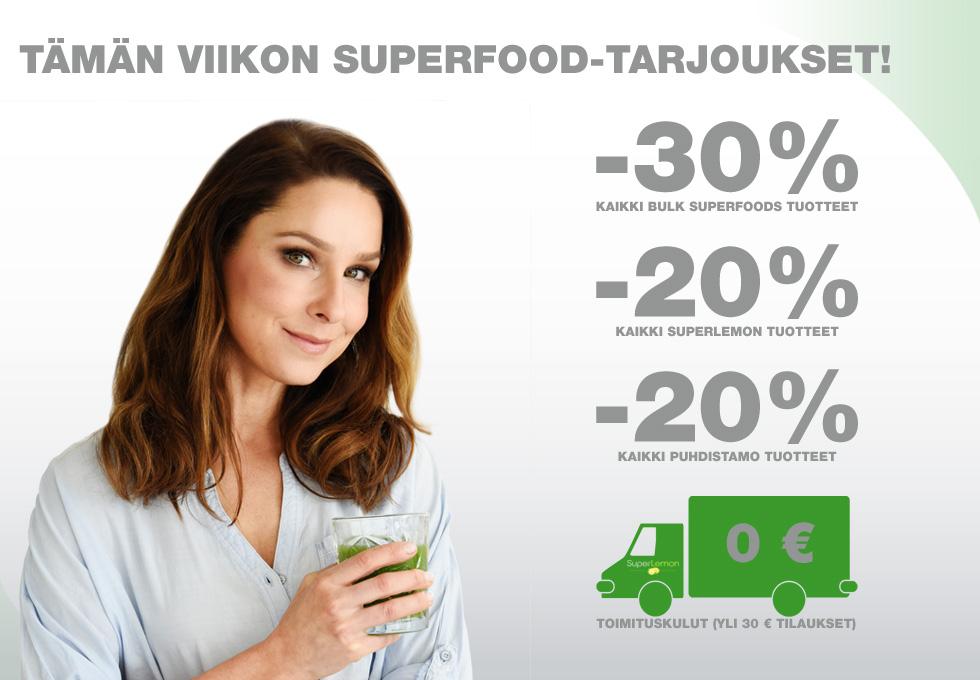 Superfood tarjoukset