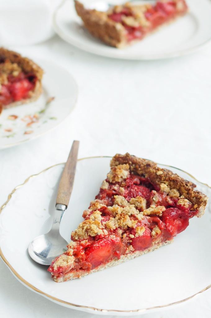 Herkullinen mansikkapiiras by Karita Tykkä