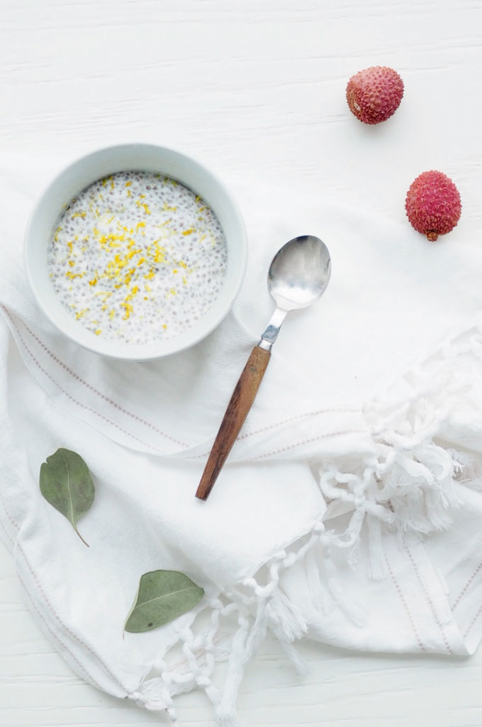 Sitruunainen chiapuuro by Karita Tykkä